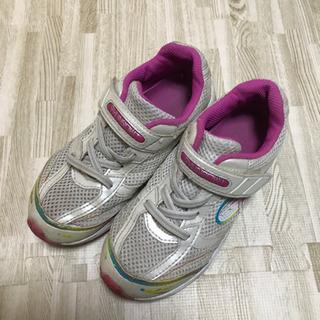 女の子 女児 靴 瞬足 20センチの画像