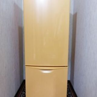 162L 可愛いオレンジ Nationalパーソナル冷蔵庫 NRB-162Jの画像
