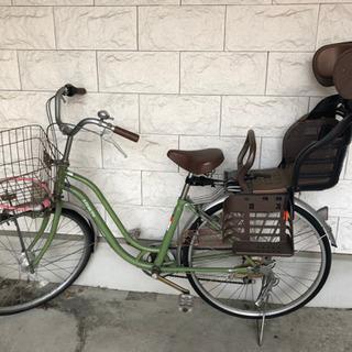 子供席付き自転車