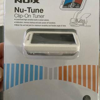 【中古】NUX Nu-Tune  クリップチューナー の画像