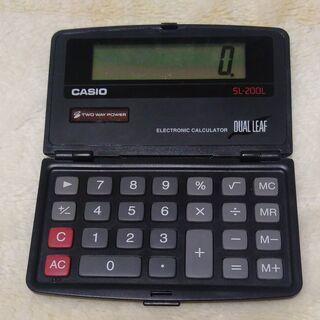 ソーラー電卓(計算機)