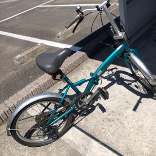 (お話中)折り畳み自転車 早め希望 パンク?してます