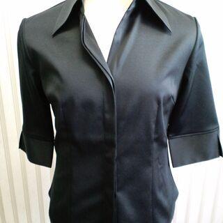 【1、980円】Cosa de Verストレッチシャツブラウス 7分袖