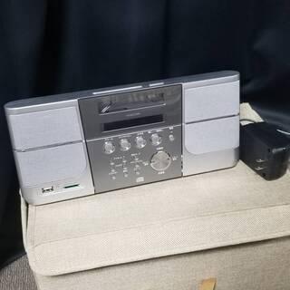 コイズミ KOIZUMI 2017年製 CDラジオ SDD…