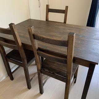 IKEA テーブルと椅子