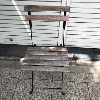 木製折り畳み椅子