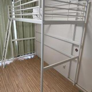 IKEA ロフトベッド SVARTA ホワイト