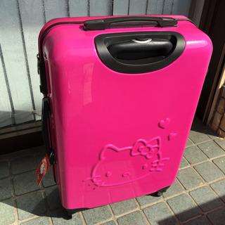 【新品未使用】【ハローキティ】スーツケース キャリーケース…