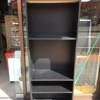 【大型カラボ】木製 カラーボックス 高さ約180cm 多用途棚 ...