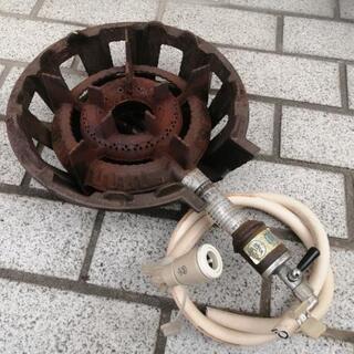 タチバナ製作所 都市ガス 鋳物コンロ 一重(中) TS-540 ...