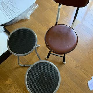 たたみ椅子 3つ