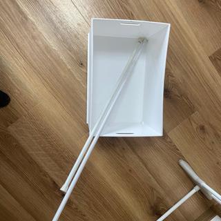 洗濯ほし、突っ張り棒、三段ボックス用 ボックス