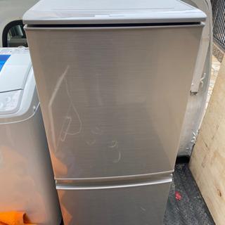 シャープ 冷凍冷蔵庫 2ドア SJ-D14A 2015年製…
