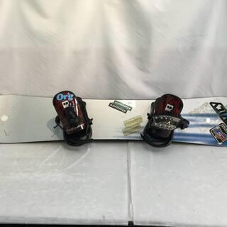 スノーボード 板 バインディング付き BE!POP 150cm