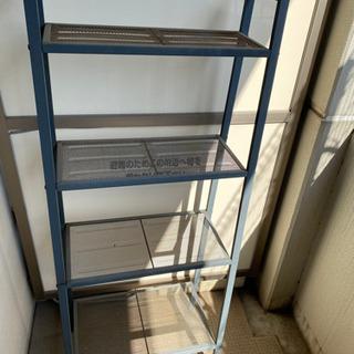 IKEAの棚 レールベリ グレー