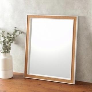 フランフラン ミラー 鏡 ホワイト
