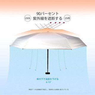 【新品・未使用】コンパクト折り畳み傘(日傘兼用) − 東京都