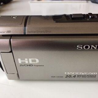 SONY HDR-CX590V デジタルHDビデオカメラレ…