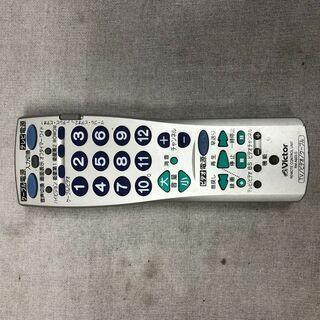 各社対応 液晶テレビ/ビデオデッキ/ケーブルテレビ 互換リモコン Victor RM-A603-S(中古品)の画像