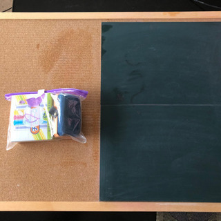 【手作り】黒板 コルクボード