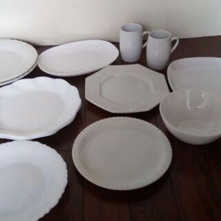 美品! 白い食器 14点セット