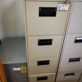 オフィス用ファイルキャビネット カギ付き