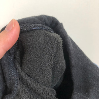 (21)95cm 裏起毛 星柄ズボン - 子供用品