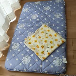 3点セット 子供用お昼寝布団 防水シーツ ボックスシーツ