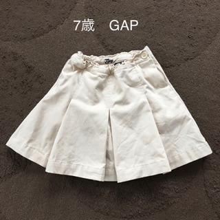 7歳 GAP キュロットスカート