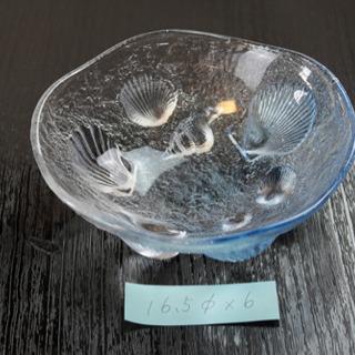 【ネット決済】日本料理 会席  ガラス鉢(中古品)
