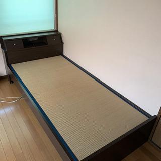 【ネット決済】シングルベッド 中古品