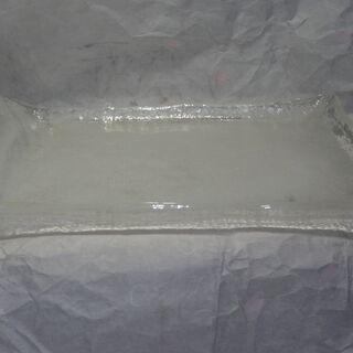 ガラスの大皿 長方形 & ガラスの器各種