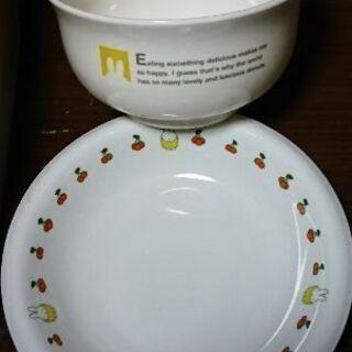 ミィッフィー皿、どんぶり鉢