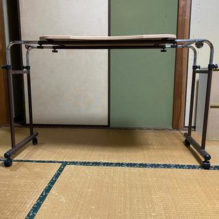 お値下げ!ニトリ  ベットテーブル - 家電