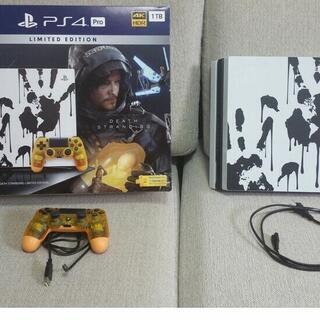 PS4 Pro 本体セット デスストランディング リミテッドエデ...