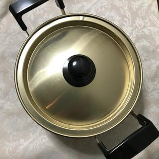鍋 (小鍋 ツルマル印 16㎝ 未使用)