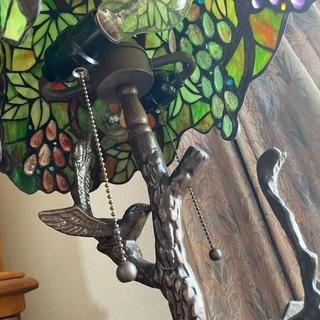 ステンドグラス ランプシェード - 家具