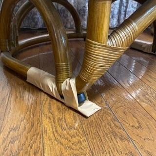 ラタン椅子 2つセット − 宮城県