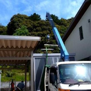 物置小屋のブロック基礎、移設、組み立て等やります!