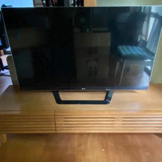 【ネット決済】47インチ LGテレビ と テレビ台