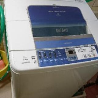 日立、洗濯機