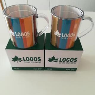 【新品未使用】LOGOS マグカップ2個セット