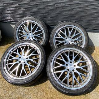 タイヤホイール4本セット BADX バドックス ロクサーニ マルチフォルケッタの画像