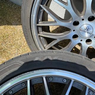 タイヤホイール4本セット BADX バドックス ロクサーニ マルチフォルケッタ - 売ります・あげます