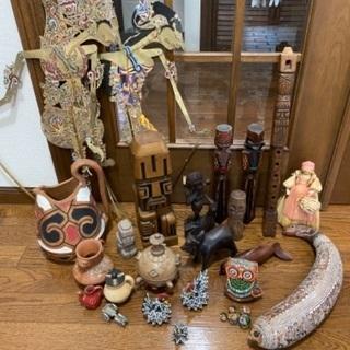 海外人形民芸品 まとめ売り2の画像
