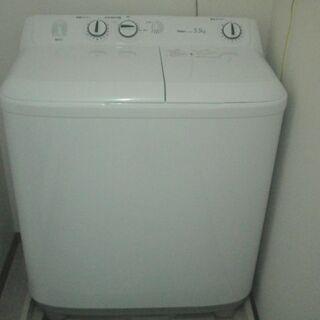 2槽式洗濯機 Live Series ホワイト JW-W55E-...