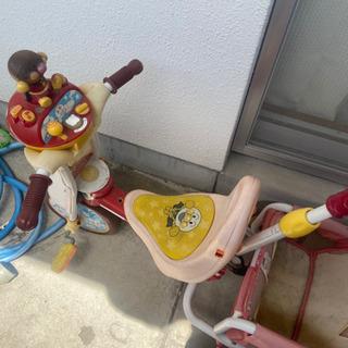 アンパンマン 三輪車、キックボード