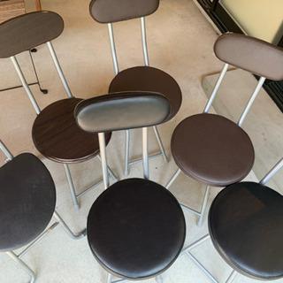 折り畳み丸椅子(5脚セット)