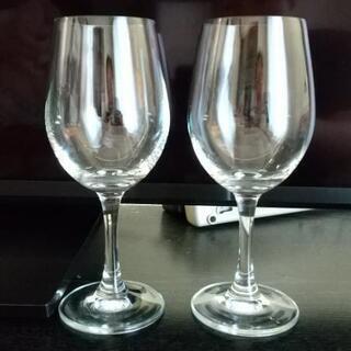 百均のワイングラス2個