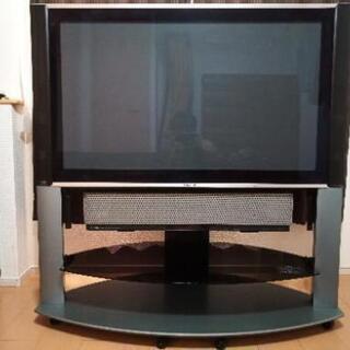 【あげます】[日立42型TV] YAMAHAスピーカー付